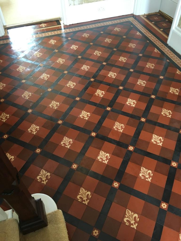 Restoring A Victorian Tiled Hallway Hidden Under Carpet