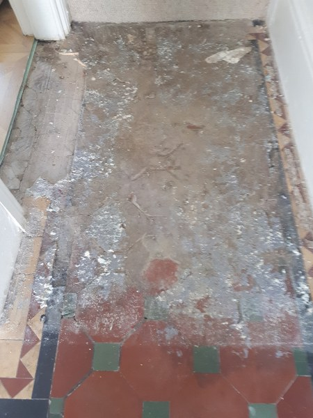 Cement Screed Removal