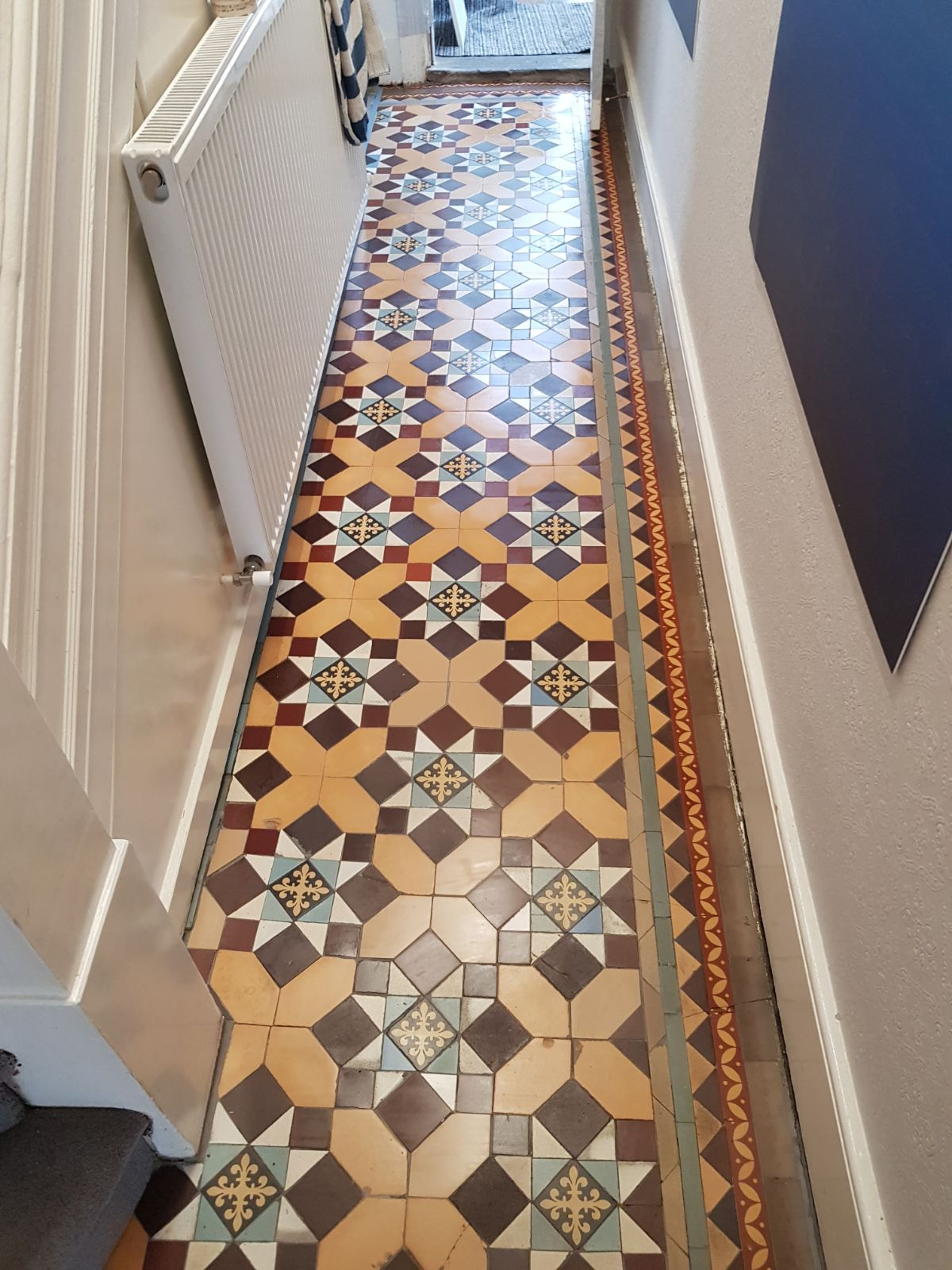 Edwardian Tiled Hallway Restoration