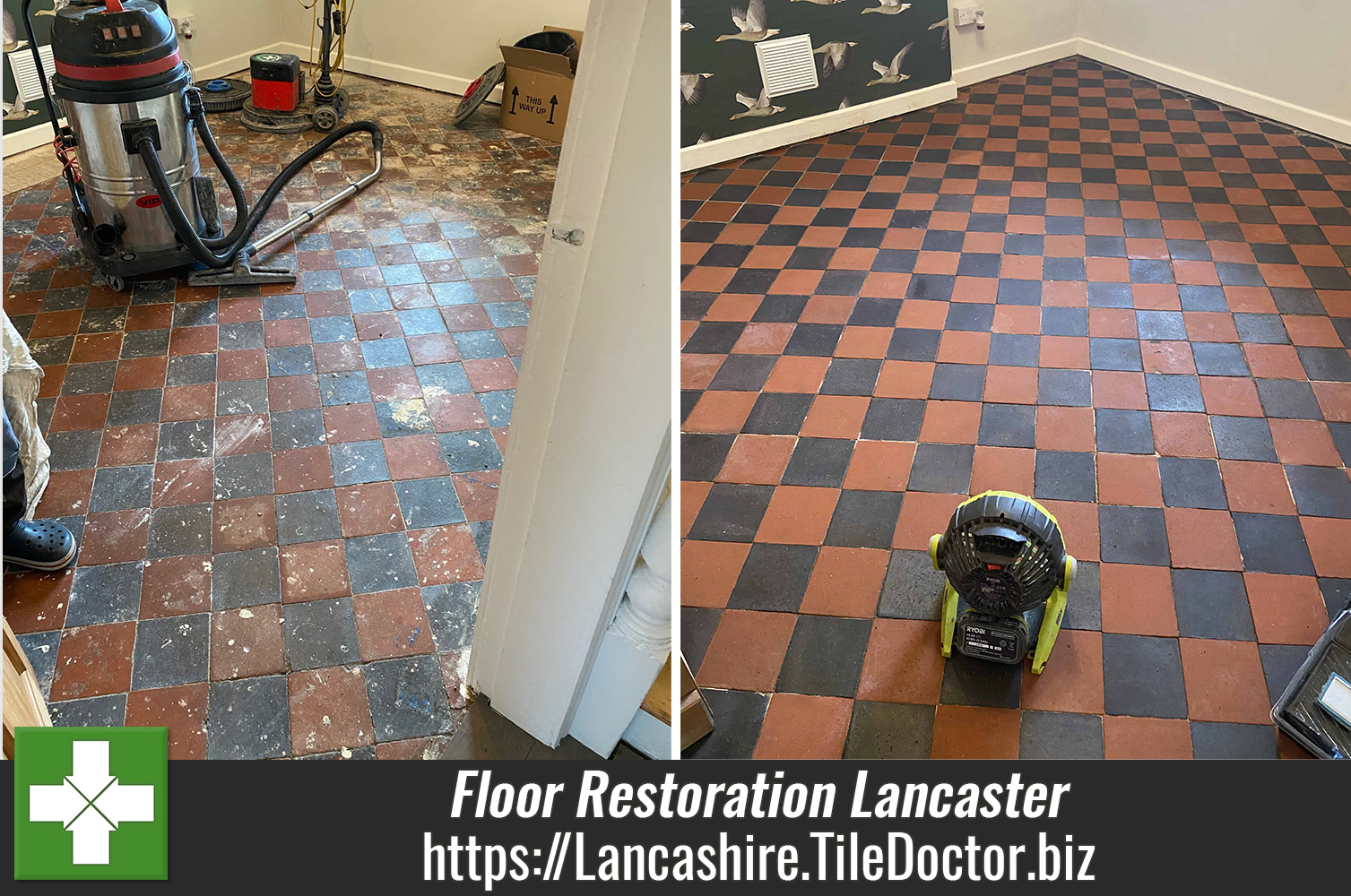 Victorian-Black-and-Red-Floor-Restoration-Lancaster-Lancashire